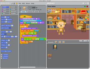 TimesTables in Scratch