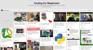 Pinterest Board - Coding for beginners